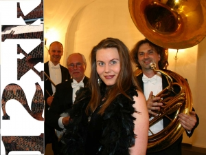 "12xk - ""The Amazing Twenties""  mit The ´LULU WHITE´salon orchestra am 12. Juni 2018"