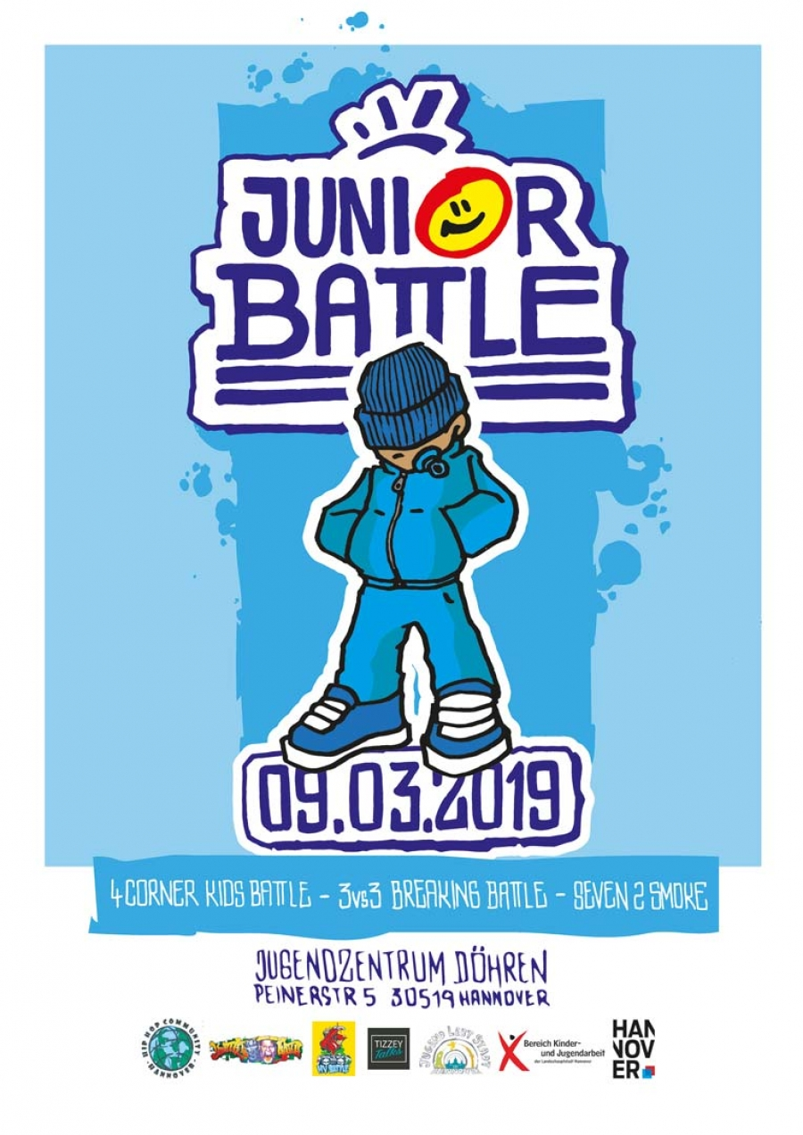 20. Breakdance Juniorbattle in Hannover am 9.März 2019